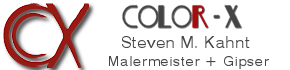 Color-X Malermeister + Gipser